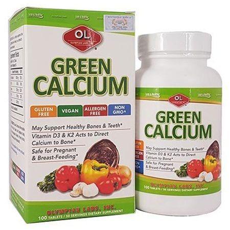 Green Calcium của Mỹ
