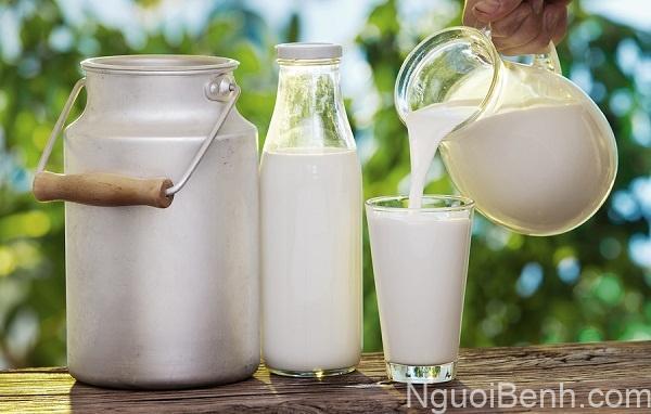 HIểm họa từ sữa chưa tiệt trùng