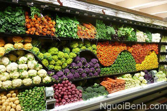Rau củ quả và trái cây