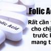 Viên uống Axit Folic