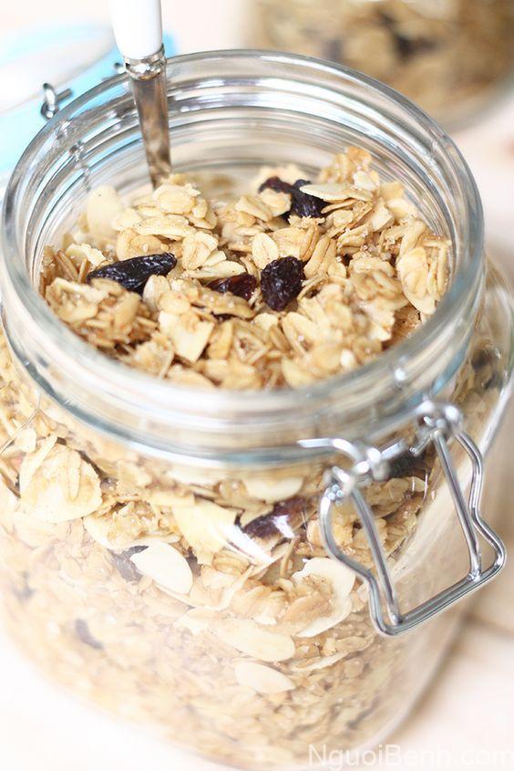 Ngũ cốc yến mạch dinh dưỡng