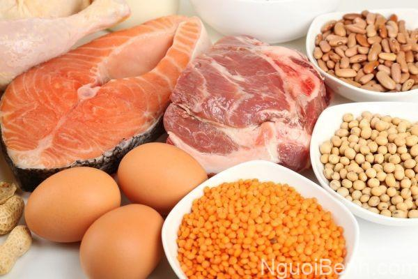 Thực phẩm thuộc nhóm thị